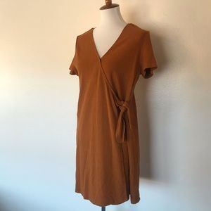 Madewell Mustard Dress